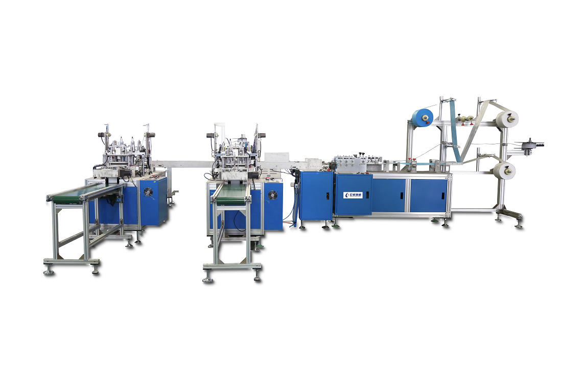 Disposable three layer Automatic Mask machine