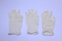 medical latex powdered and powder-free surgical glove with CE&FDA