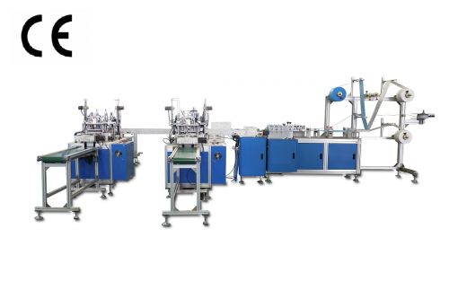 Disposable 3 layer Automatic Mask machine